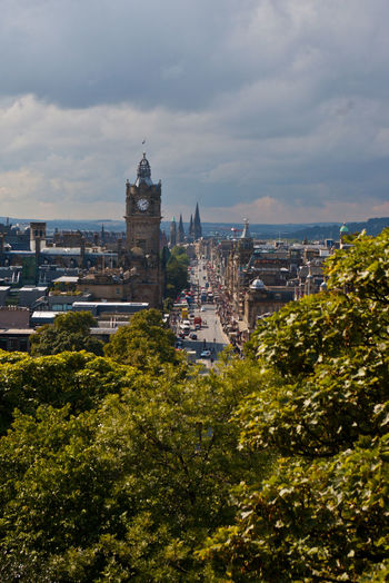 Calton Hill Architecture Building Exterior Built Structure City Cityscape Cloud - Sky Day Growth Nature No People Outdoors Sky Tree