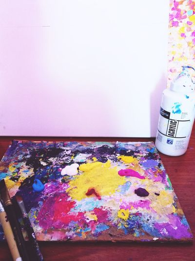 Art Day. Creativity Multi Colored Drawing - Art Product Painted Paint Pianting Life Lifestyles Art, Drawing, Creativity Love Artist Impressionism Abstract Patterns Art And Craft Beautiful Day EyeEm Gallery EyeEmNewHere EyeEm