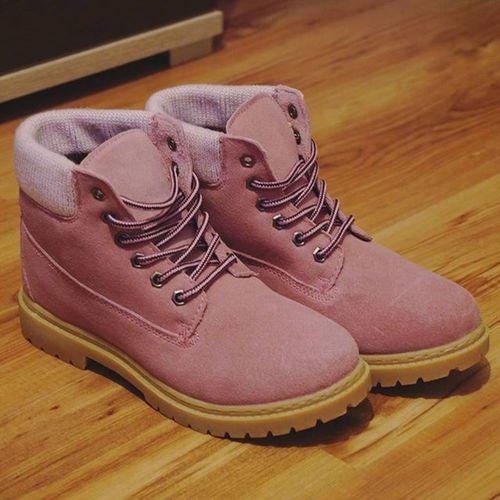 New Boots Perfect Shoes Biedronka Pink Pastele Trapery Fashion Pinklove Pastels Loveit Winter Zakupy Timberland Pastelowyróż Shopping Monday Beautiful Day Sunny Instamood Lookbook Polishgirl Fashiongirl  powderpinkpolandlikeforlikel4lf4f