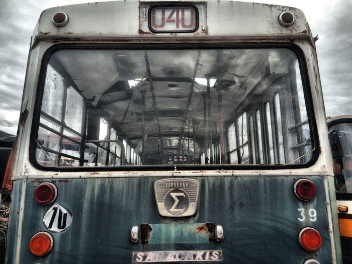 Bus Old Retro