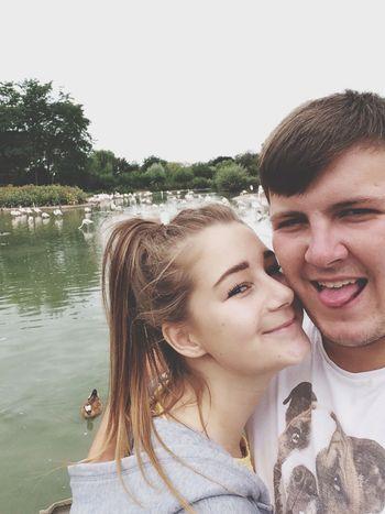 Had a lovely day at Slimbridge. With my beautiful boyfriend Boyfriend❤ Dayout Happy