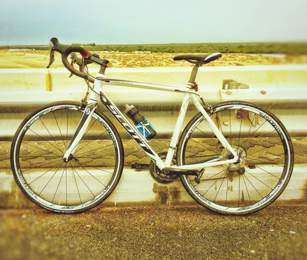 Scott Speedster 20. The Road to Yas Island. Scottbikes Scottspeedster Scott First Eyeem Photo