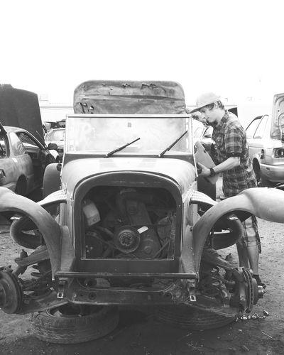 Old car at junk lot Cars Thatsmybabyboy Carlot Old Car Still Beautiful  Long Goodbye