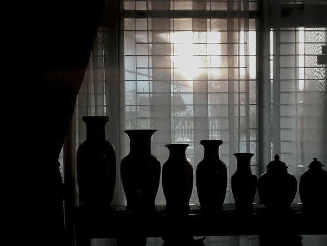 Silent morning Blackandwhitephotography Sunset Silhouettes Silhouettes Street Photography