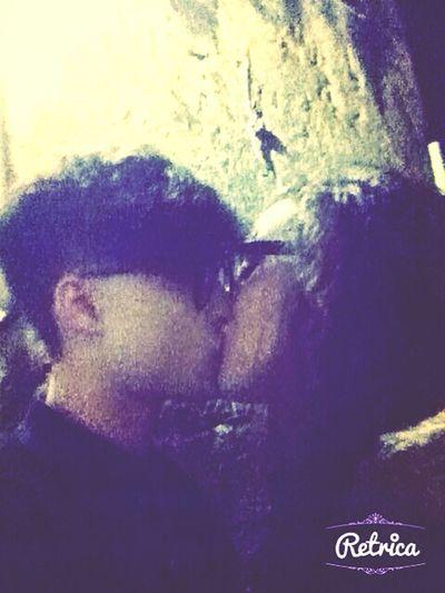 my boyfriend and me