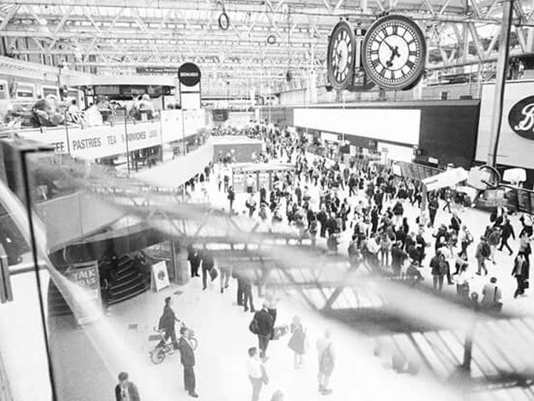 Waterloostation Waterloo London Lumix DMC-GF1