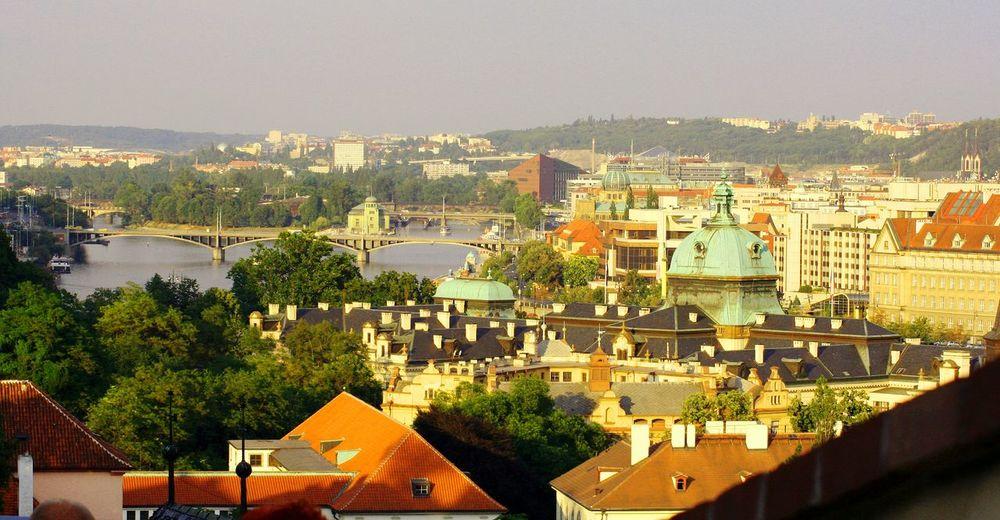 Prague Bridge Cityscapes City View