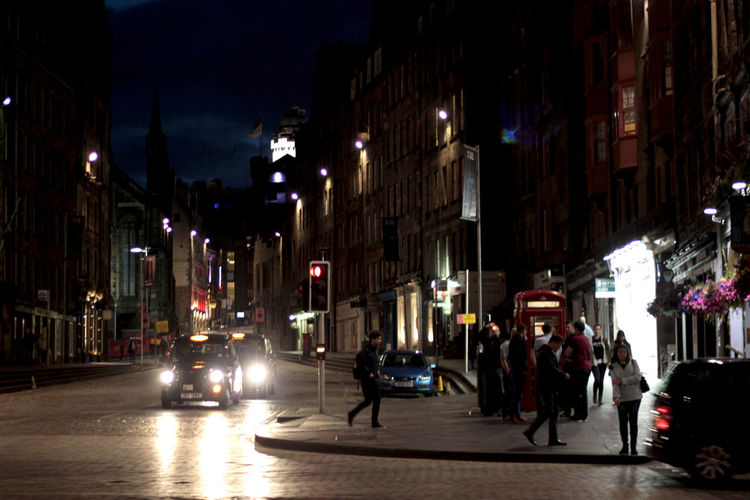 night life in Edinburgh, Scotland Abend Architecture Car Cities At Night City City Life City Street Illuminated Light Lights Motion Motion Blur Night Night Life Pub Street Street Life Street Photography Streetphotography