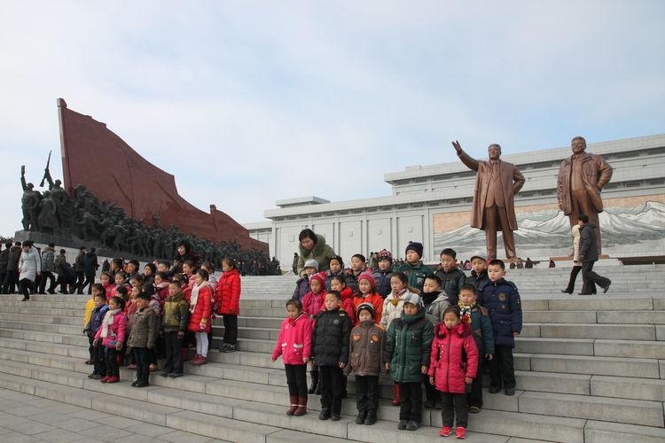 Celebration Cityscape DPRK DPRKorea Great Leader Kim Jong Un Kim Jong Il Monuments North Korea North Korea Photos Communist Dictator Pyongyang Travel Travel Destinations