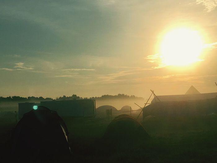 National Jamboree 2017,Sweden Nature Tent Sky