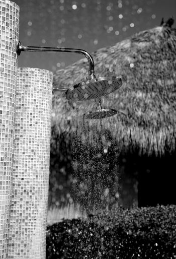 shower Vacation Holiday Sony Fullframe Photography Reflections Contrast Blackandwhite Monochrone Bnw Water Spraying Day No People Motion Outdoors Close-up Splashing Droplet Freshness Nature