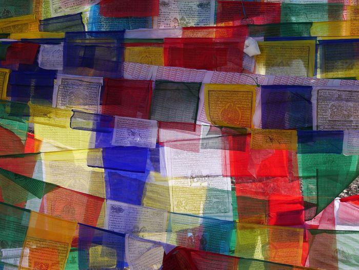 Praying flags