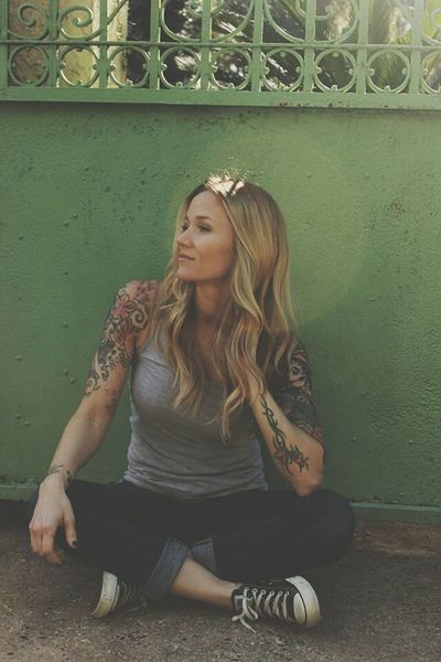 Tattoos Photoshoot Headshots Matroshka Matryoshka Converse Blonde Actress