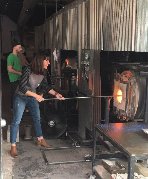 Flame Seattle Gamble Glass Blowing Furnace Fire Check This Out Woman Of EyeEm Woman Working Hot Hot Women Who Inspire You Womenpower Woman At Work Art ArtWork Creativity Seattle Gamble Art Is Everywhere