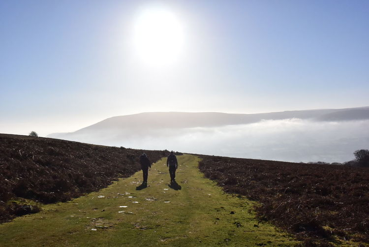 Heaven on earth, Sugarloaf Two People Togetherness People Sunlight Adult Adults Only Outdoors Landscape Mountain Full Length Real People Day Nature Beauty In Nature Only Men Sky Sugarloaf Sugarloafmountain Sugarloafstatepark Heaven On Earth Heaven♥ Wales UK