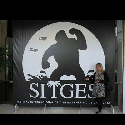 Reciclando foto de otros años, ya que me quedé sin batería con tanto Maps jaja Sitges Sitgesfilmfestival Sitges2013