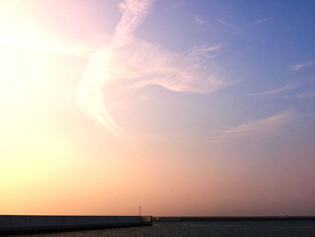 海 夕空 Thank You Today The Evening Sky 君に会えた