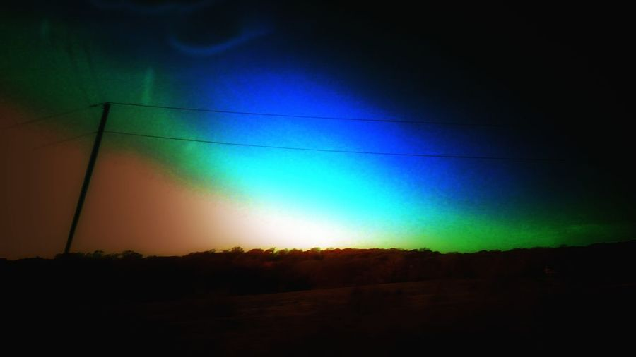 The Impurist Alien Light Eye Am Nature Atmospheric Mood Electr⚡️cal L❤️ve Skyporn No People Tranquility Sunset Madness Darkness And Light