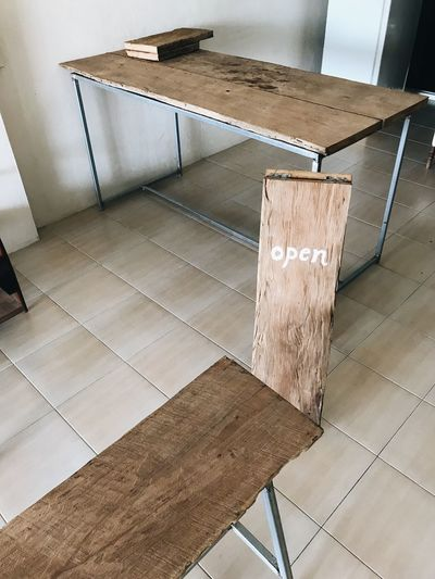 Cafe Wood Indoors  Flooring High Angle View No People Tiled Floor Architecture Tile Absence Design Paving Stone Pattern Furniture Building Wall - Building Feature Empty Built Structure Metal Day Home Interior Sunlight