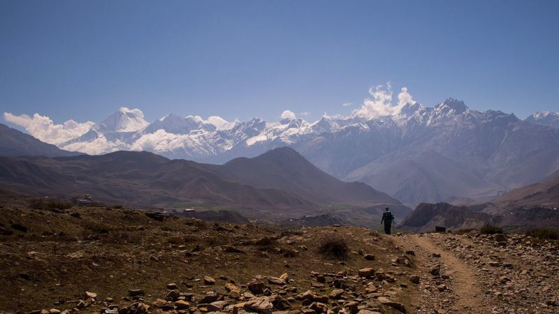 Place Of Heart Mountain Nature Nepal Snow Desert Trekking Beauty In Nature Journey Nikon D5200 Lost In The Landscape