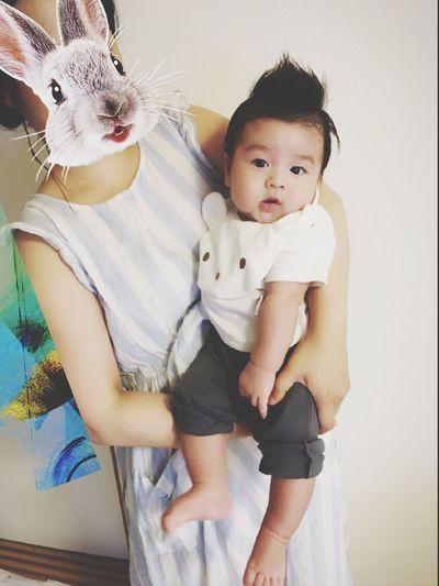 Nephew  甥っ子 Baby Boy Cute JP 3month Love おめかし お出かけスタイル