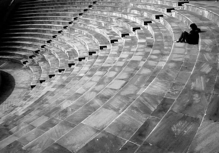 Istanbul Turkey Yanlızlık Black & White