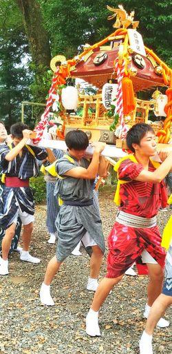 昨日は大切なお祭りでした! 富士市 Fujicity 富士市岩渕 岩渕祇園祭 お祭り Japanese Festival Friendship Bonding Happiness Boys Fun Enjoyment