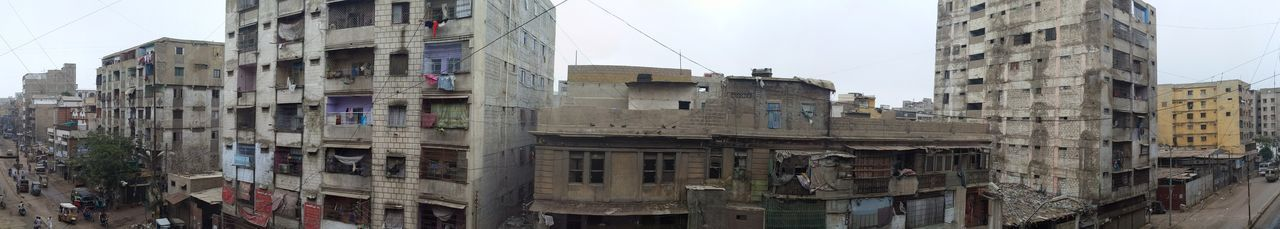 Center City CityOfLights  Growing Karachi EyeEm Old Town Apartment Architecture Biggest Little City Building Exterior Buildings Built Structure City Cityscape Day No People Outdoors Residential Building