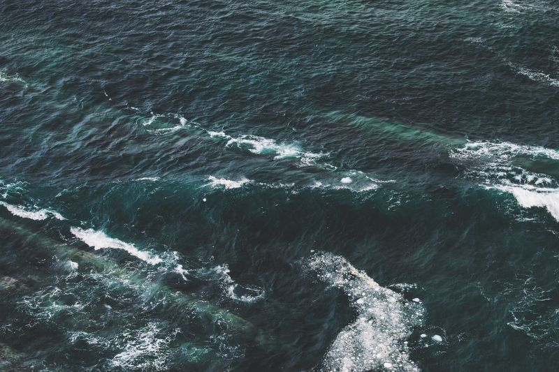 Piercing into the depths of the Atlantic Ocean. Sea Water Motion Nature Beauty In Nature No People Backgrounds Wave Day Outdoors Crashing Newfoundland