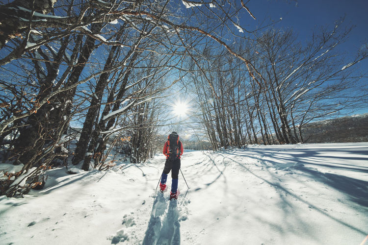 Cold Winter ❄⛄ Cold Winter Bushcraft Outdoors Hiking Hikingadventures Mountain Mountain Peak Camping Campinglife Beauty In Nature EyeEm Best Shots Nature Nature_collection Nature Photography Hiking Adventures Snow Snowing Sunlight EyEm Selects