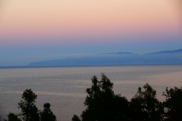 Isola Del Giglio Isola Del Giglio Sunset Sea Threes Island Sunset Mont Argentario Sunset Sky Sea Clouds Water Sunset