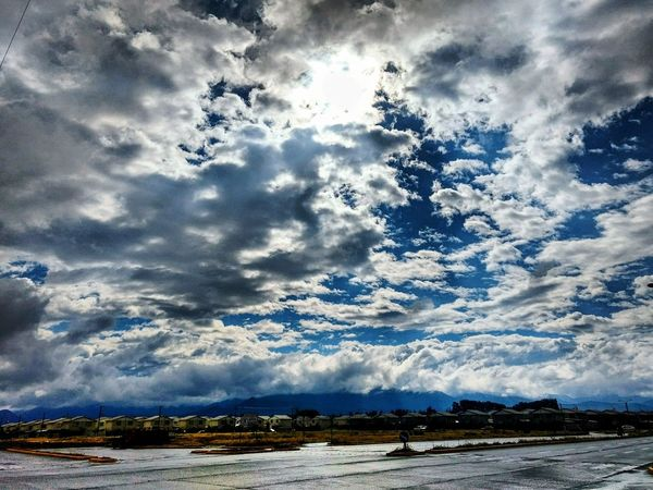 Cloud - Sky Dramatic Sky Outdoors Sky Nature Landscape Scenics Beauty In Nature Tranquil Scene Beauty Blue Sky Post Lluvia Cielo Y Nubes  Cielo Despues De La Lluvia Beautifull Nature I Fell In Love