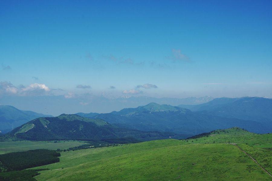 1925m Pentax K-3 長野 車山高原 山頂 Landscape Environment Mountain Sky Land Mountain Range Green Color