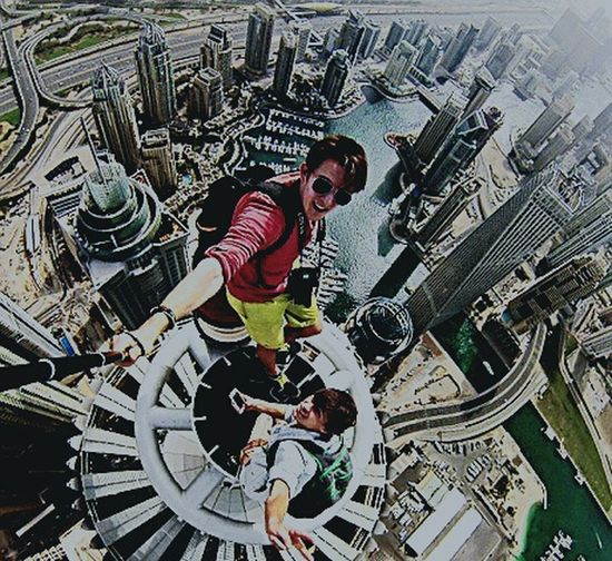 Adult Exercising People Men Sport Teamwork Only Men City Country Dubai Burj Khalifa Rufing EyeEm Selects
