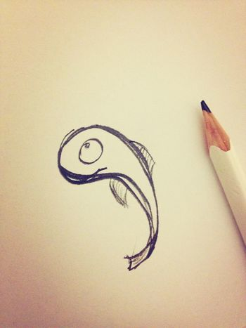 What started as a logotype ended as a fish. I will call him Charlie.