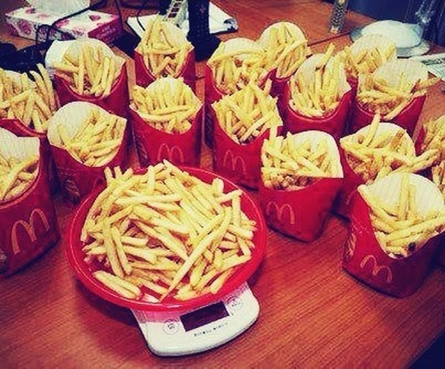 Love Some McDonald's Fries :-) <3