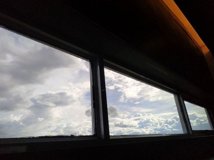 a cloud in the