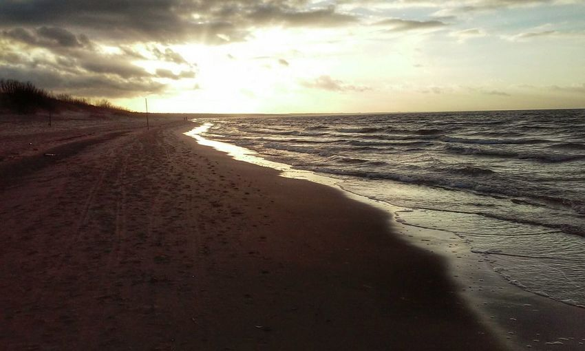 Seaside Silhouette Spring!