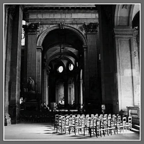 L'église Saint-Sulpice de Paris Architecture Paris ❤ Paris, France  Paris Je T Aime Saint-Sulpice No People Church Eglise BW_photography Bw Bws_worldwide