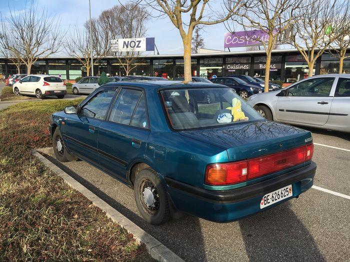 My old Mazda BG