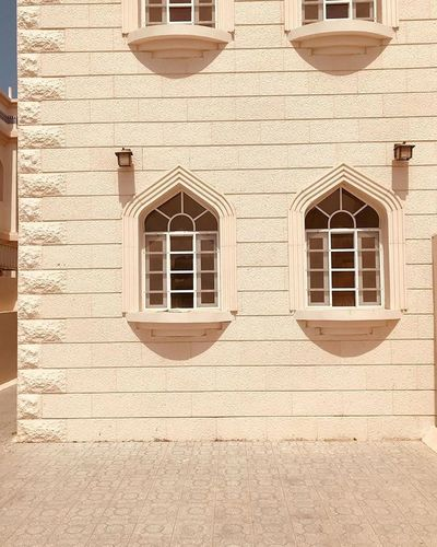 Arabian Moment Architecture Built Structure Window Building Exterior Building Sunlight Day Full Frame Pattern Wall - Building Feature Shadow Outdoors Wall Nature Residential District Old House No People Stone Wall Façade