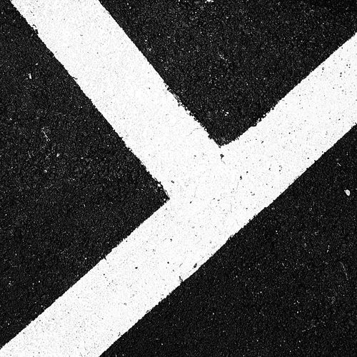 Minimalism Minimal Formas Y Colores Lines Architecture Geometry Art Color LINE Marking Road Textured  Asphalt Full Frame Street High Angle View Road Marking Close-up White Line Paint