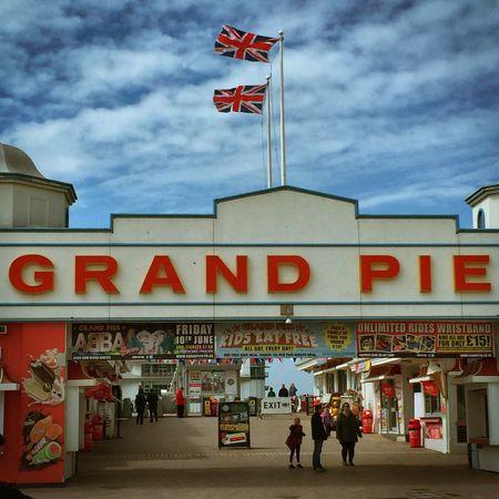 Pie Weston-super-mare Flag Unionjack