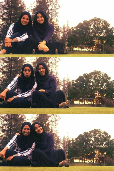 Taking Photos with My Bestfriend and Canon 1100D Hijab