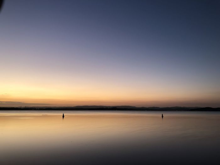 Sunset over Lake Macquarie from Swansea EyeEm Selects Sky Water Scenics - Nature Sunset Beauty In Nature Sea Tranquility Tranquil Scene Copy Space Beach Land Nature Idyllic Orange Color Outdoors Reflection Silhouette Non-urban Scene Dusk
