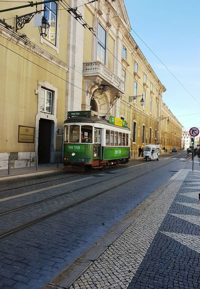 Baixachiado Transportation Railroad Track Rail Transportation Built Structure Day Sky Travel Destinations Outdoors Travel Love City Taking Photos No People Enjoying Life Hanging Out Explore The World Hello World Portugal Lisboa🇵🇹