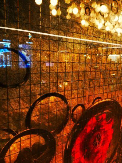 Illuminated Lighting Equipment No People Indoors  Full Frame Backgrounds Night Close-up Rose🌹 Abstract Art Mirriorshot Grille EyeEm Best Edits Fine Art