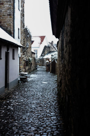 Freinsheim Rheinland-Pfalz  Winter Architecture Building Exterior Built Structure Cold Cold Temperature Germany House No People Outdoors Residential Building Street