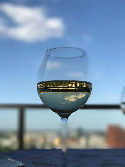 Wine Not Sky Focus On Foreground Close-up No People Day Outdoors Drink Alcohol Clear Sky Wineglass Nature Freshness Depth Of Field
