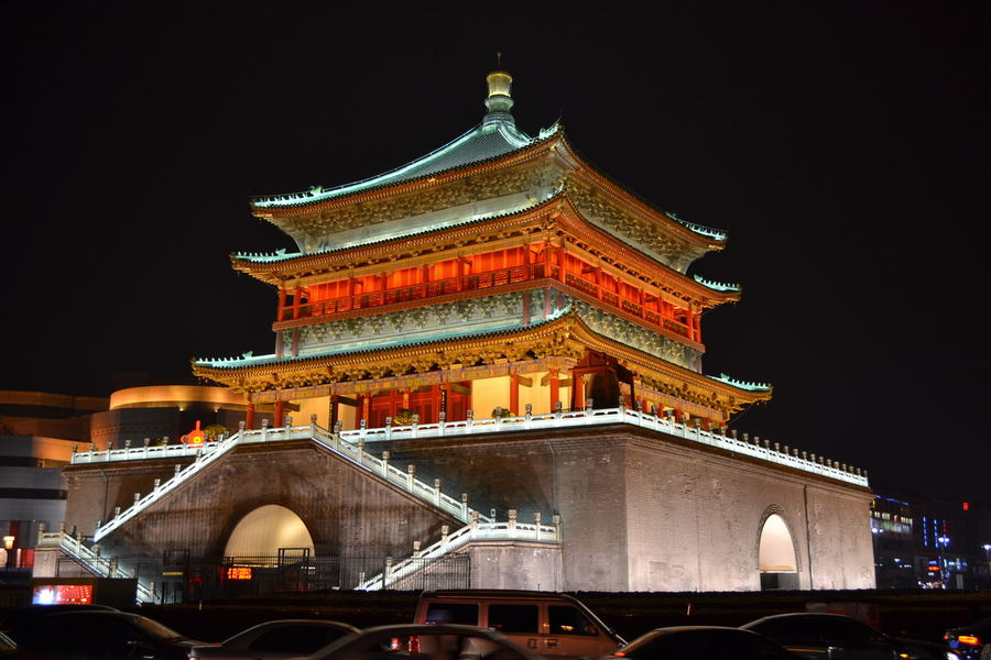 Architecture Asian Architecture Building Exterior Built Structure Capital Cities  Cathedral City Dome Drum Tower Façade Famous Place Gate History International Landmark Old Town Tower Town Square
